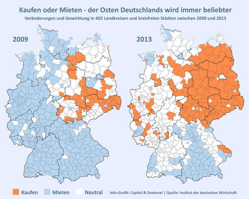 Info Grafik Capital & Denkmal Quelle Institut der deutschen Wirtschaft